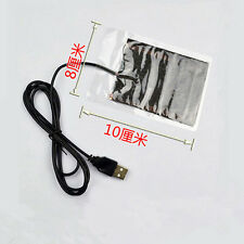 Protable USB Heating Heater Winter Warm Plate for Shoes Golves Mouse Pad