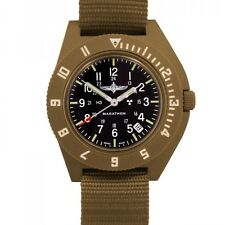 IDF Duvdevan Pilot Watch Marathon Navigator w/ Date Aviation H3, NEW, Desert Tan