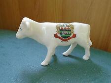 Poole Dorset Crest-vaca Jersey-isla de Wight terneros-Grafton Crestado de China