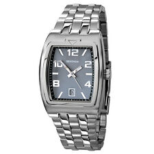 Mens Sekonda stainless steel dark grey watch 3778