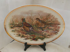 OVAL PLATTER WITH A BRACE OF PHEASANTS PATTERN BY LIVERPOOL ROAD POTTERY