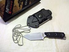 MTech USA XTREME NECK / SURVIVAL KNIFE G10 HANDLE SHEATH AND MORE