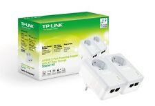 TP-LINK TL-PA4020P KIT Powerline AV500 2 porte Ethernet + presa passante 500mbps