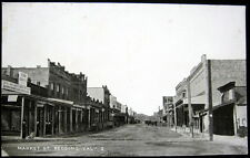 REDDING CA ~ 1900's Market Street ~ Downtown ~ Dry Goods Store & More