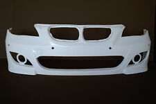 5 Series 04-11 E60 BMW M5 style Poly Fiber Front bumper body kit front