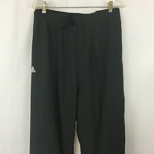 Adidas Track Pants Size 5X Black New with ClimaLite Zipper Legs NWT