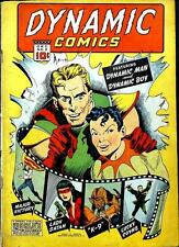 Dynamic Comics #2 Photocopy Comic Book, Major Victory, Dynamic Man