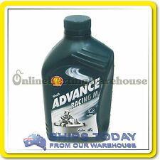 GO KART SHELL ADVANCE RACING M 1 LITRE CASTOR OIL BEST CHOICE FOR KARTING !!! :)