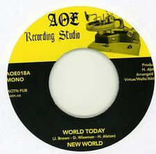 New World - World Today /J.R. - AOTN - Limited reissue NEW 45