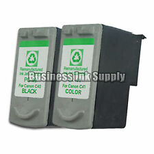 2 PACK Canon PG-40 CL-41 Ink Cartridge HIGH YIELD Reman PG-40 for Canon Printer