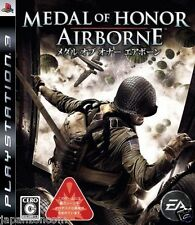 Used PS3 Medal of Honor: Airborne SONY PLAYSTATION 3 JAPAN JAPANESE IMPORT