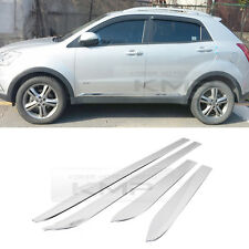 Chrome Side Skirt Accent Molding Trim for SSANGYONG 2011-2015 Actyon / Korando C