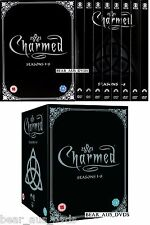 CHARMED 1-8 (1998-2006): COMPLETE Witches TV Seasons Series - NEW DVD UK not US
