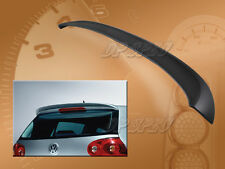 FOR 06-09 VOLKSWAGEN VW RABBIT GOLF 5 V MK-5 TYPE-A ABS REAR ROOF SPOILER WING