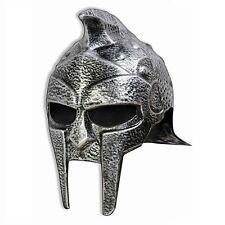 Roman Gladiator Adult Helmet Hat Trojan Warrior Mens Russell Crowe Maximus New