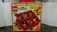 NEW FACTORY SEALED VINTAGE 1990 LEGO SYSTEM BASIC BUILD-N-STORE CHEST 365 333pc
