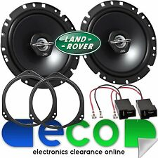 Landrover Discovery 2 L318 JVC 17cm 600 Watts Front Door Car Speakers & Brackets