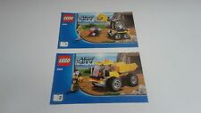 LEGO CITY !! INSTRUCTIONS ONLY !! FOR 4201 MINING LOADER