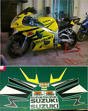 GSXR 750 Full Replacement Decals Stickers Graphics