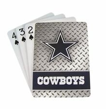 DALLAS COWBOYS 52 PLAYING CARDS DECK DIAMOND PLATE POKER  NFL FOOTBALL