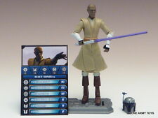 STAR WARS Mace Windu CLONE COLLECTION CW 20 TCW SOTDS LOOSE