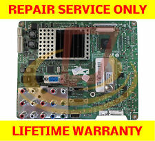 Samsung LN40A500T1FXZA Main Board *** REPAIR SERVICE *** TV Cycling On and OFF