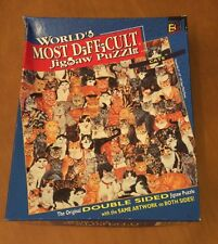 World's Most Difficult Jigsaw Puzzle Called Cats - SEALED BAG