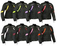 Womens RIDEX Motorbike Jacket Ladies Cordura Biker Motorcycle Waterproof