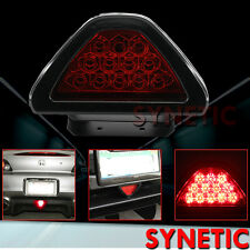Universal F1 style 12-LED Red Rear Tail Third Brake Stop Strobe Light