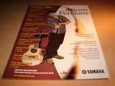 ANTONIO FORCIONE - YAMAHA!!!!!!1!!!!FRENCH PRESS ADVERT