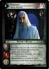 LoTR TCG TTT The Two Towers Saruman, Black Traitor 4R173