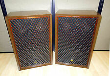 VINTAGE SANSUI SP-2500A STEREO SPEAKERS 3-way 5 Driver Clean & Working Audio