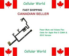 New Power Mute and Volume Flex Cable for Apple iPad 2 CDMA & 2012 Version - 6003