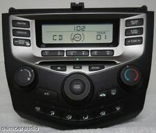 03 04 05 06 HONDA Accord Radio Stereo CD Player 2AC2 Manual Temp Climate Control