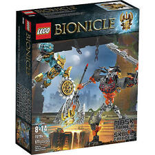 70795 MASK MAKER VS. SKULL GRINDER lego bionicle NEW sealed legos set