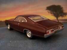 1967 67 CHEVY IMPALA SS 427 COLLECTIBLE DIECAST MODEL 1/64 SCALE - DIORAMA