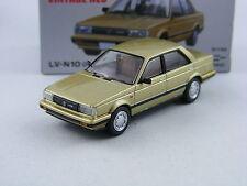 Nissan Sunny 1500 in gold,Tomytec Tomica Limited Vintage Neo LV-N10d,1/64