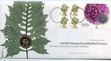 2000 £1 Limited Edition Botanic Garden of Wales  First Day Stamp Cover with Coin