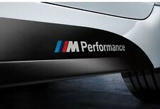 2x BMW M Performance M SPORT SIDE Gon na Decalcomania Adesivo Vinile-Premium Item