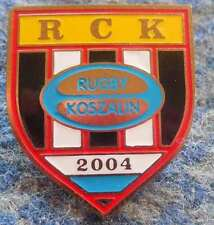 RUGBY CLUB KOSZALIN POLAND RUGBY CLUB PIN BADGE