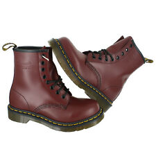 Dr. Martens 1460W Classic 8 Eye Boot Cherry R11821600 Womens US size 7, EUR 38