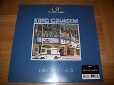King Crimson - Live at the Orpheum - Brand New 200gm Vinyl - Gatefold Sleeve