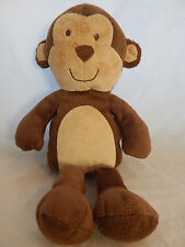 "Carters MONKEY Plush Brown Tan 11"" Just One You No Yellow Bow 92914 Stuffed"