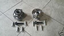 VW CADDY VAN (04-06 )TWO FRONT WHEEL BEARING HUB KITS (4 BOLTS FIXING) BRAND NEW