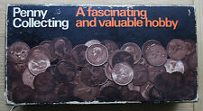 Penny Collecting Set including handbooks and holders, boxed