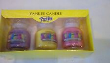yankee candle marshmallow peeps trio small jars