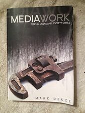 DMS - Digital Media and Society Ser.: Media Work by Mark Deuze (2008, Paperback)