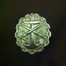 IMPERIAL NAVY WOUND BADGE IN SILVER (1914-18)