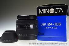 ** MINT ** MINOLTA AF 24-105mm f/3.5-4.5 (D)