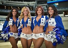 4 Sexy Dallas COWBOYS  CheerLeaders    Fridge Magnet 2.5 x 3.5